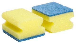 Губки для посуды профильные 2 шт. 80*55*45 мм EcoHouse 13185