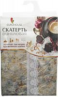 Скатерть виниловая с золотым тиснением, дизайн №2  (4239 )