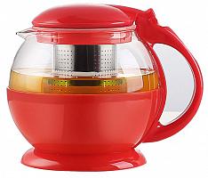 Чайник заварочный TECO TC-304 из стекла и пластика