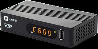 Приставка для цифрового ТВ HARPER HDT2-1514